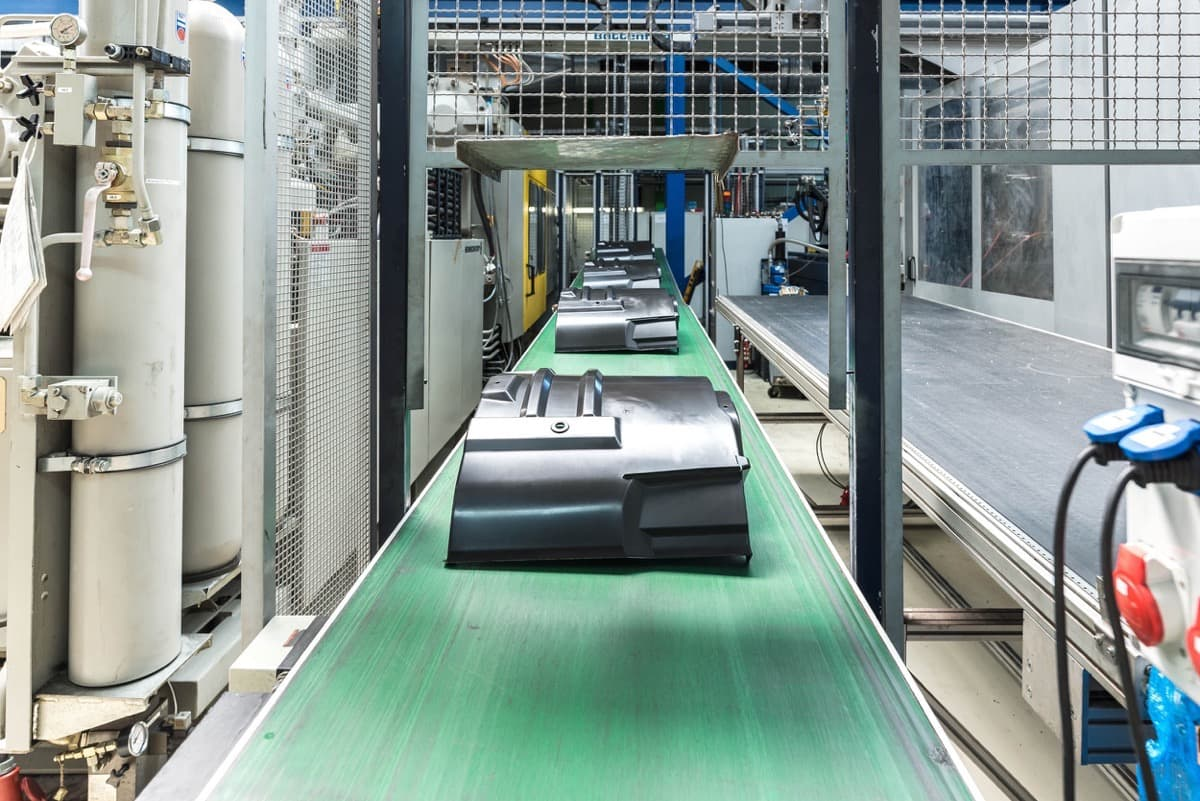 Contract manufacturing - Injection molding